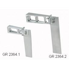Enkelroder aluminium 70 mm