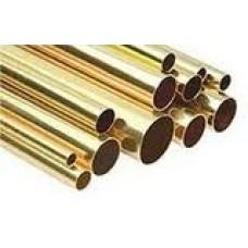 Mässingrör 4mm-3,5mm L305mm
