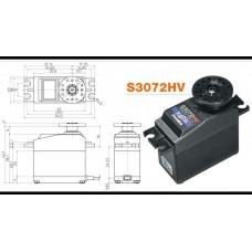 FPS3072HV Futaba Digitalt servo. 6,5kg