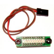 Accvarnare 4-celler  4,8 volt