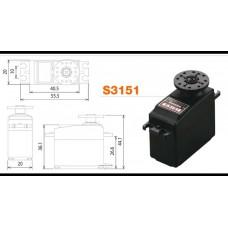 FPS3050 Futaba Digital standard servo. 6,5Kg