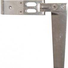 Komplett enkelroder GR0 bladlängd 80mm, lång vinkel